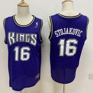 Sacramento Kings Peja Stojakovic Purple Jersey